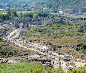 One Day Travel to Perge, Aspendos, and Side