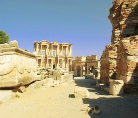 Travel in Time in Ephesus!