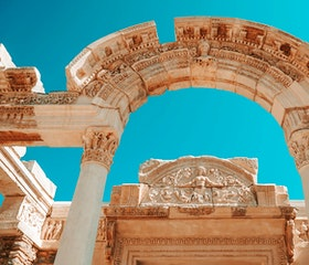 Travel to Ephesus and St. John Basilica in Half Day