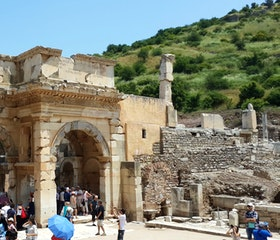 Travel to Ephesus Ancient City and St. John Basilica