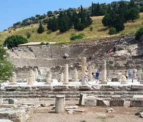 Travel to Ancient City Ephesus