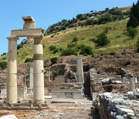 Travel to Ephesus ruins, St. John Basilica, and Mary House