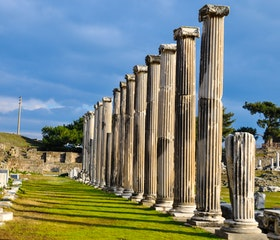 Travel to Pergamum and Asclepion